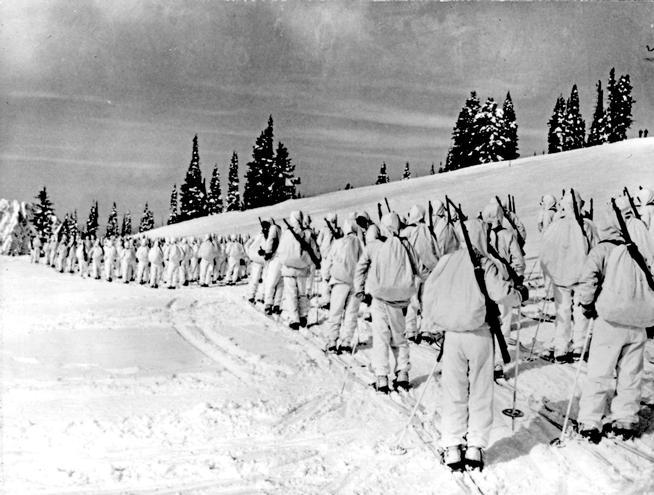 Camp Hale soldiers
