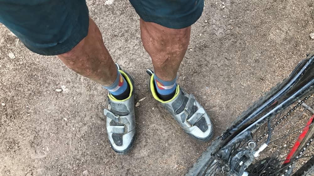 through biker legs @ Kenosha Pass