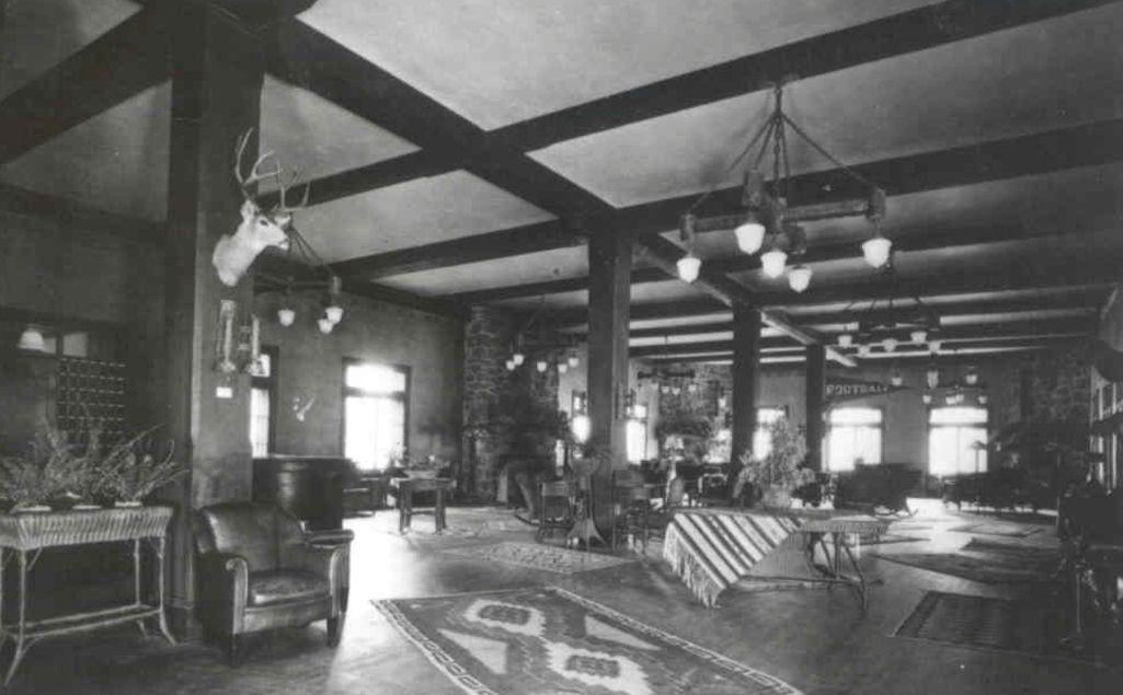 main lobby, circa 1920s